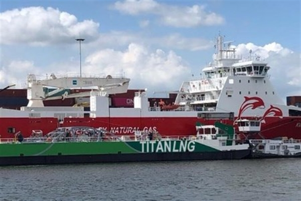 Titan LNG Conducts World's Largest LNG Bunkering to Date