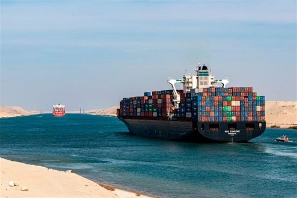 Back to Business at the Suez Canal