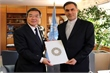 New Iranian Permanent Representative visits
