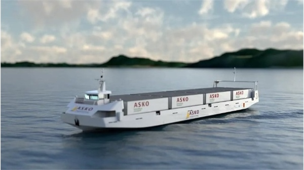 An Early Look at ASKO's Autonomous Freight Ferries