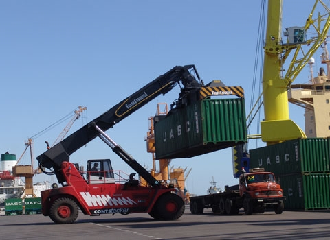 Container Operations Growing in Shahid Rajaee Port