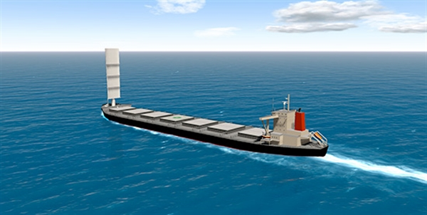 MOL, Oshima Get AIP for Wind Challenger Design