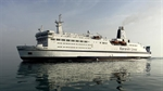 """Sunny"" Ocean liner First voyage to Sharjah"