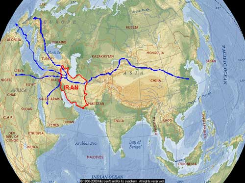 East-West Corridor or the Old Silk Road